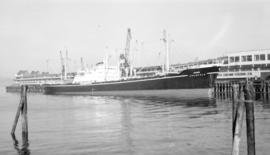 "M.S. Jalakala [at dock, at Pier ""B""]"