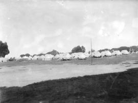 [View of camp at Macaulay Point]