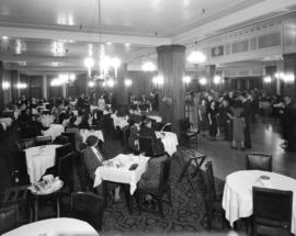 [Hudson's Bay Company tea dance at the Georgian Restaurant]
