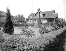 Dr. Greenius' residence [at 1760 Napier Street] in Grandview District