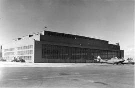 [Exterior of Boeing Plant, building one, Sea Island
