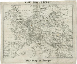 The universal war map of Europe