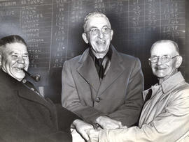 West Vancouver Council members, John Richardson, F.W. Pepper, and Thomas Martin