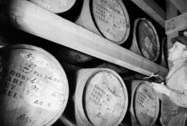 United Distillers whisky barrels