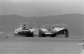 [Four] idle tankers near Portovenere