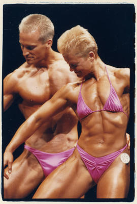 Physique competition at the Orpheum