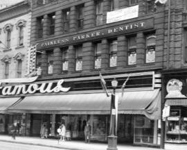 [Exterior of Davis Chambers building - 615 W. Hastings Street]