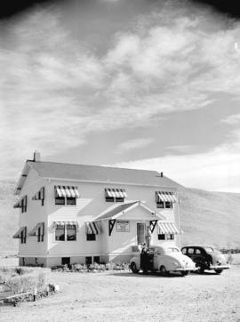 [Anglo-Canadian Oil Co. Ltd. and Drilling Contractors Ltd.] field office in Turner Valley