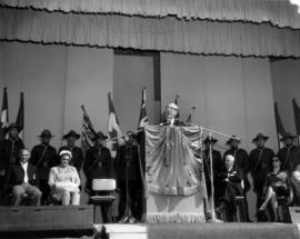 1965 P.N.E. Opening Ceremonies on Outdoor Theatre stage