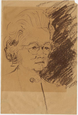 Sketch of Lillian Ho Wong