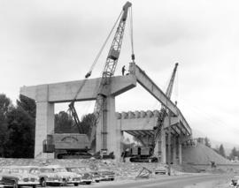 Northern Approach [of Second Narrows bridge construction] Jun. 6, 1957