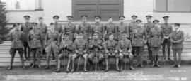 Officers 1st Depot Battalion Hastings Park Vancouver B.C.