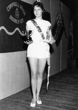 Miss Campbell River, Darleen Willis : [portrait]