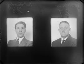 McHardy [left] and [Harold E.] Mortimer [right]