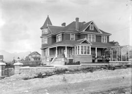 [J.J. Miller residence at 1036 Salsbury Drive (and Napier Street)]