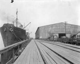S.S. West Jappa at Balfour - Guthrie Dock