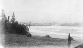 [Northern view of False Creek Flats from Mount Pleasant]