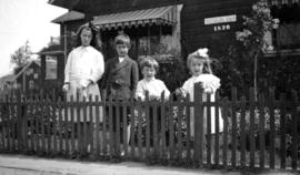 Rose, James, Kenelm and theresa Quiney at 1820 Waterloo Road [Street]