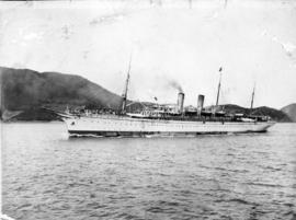 "[One of C.P.R.'s Trans-Pacific Royal Mail ""Empress"" Ships]"