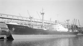 M.S. Illstein [at dock, at Ballantyne Pier]