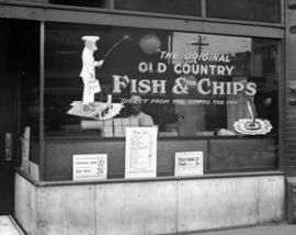 """The Original"" Old Country Fish and Chips store [6 East Hastings Street]"