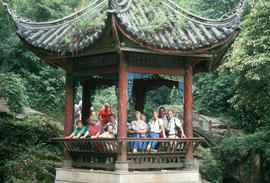 Pavilion at Omei Shan Sichuan