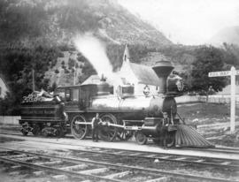 """Kamloops"" No. 7 [C.P.R. locomotive]"