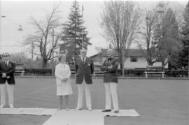 Official Opening of Lawn Bowling Club in Elm Park
