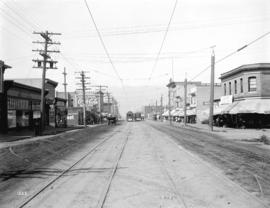 [View of Main Street, looking north from 26th Avenue]