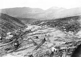 "Barkerville - Williams Creek, Cariboo, ""Gold Mines"""