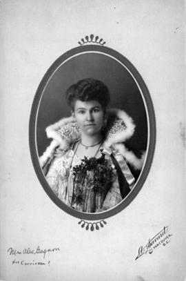 Portrait of Mrs. Alex Gagnon [nee Corriveau]