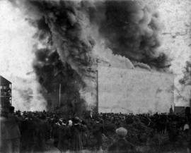Cottrell's warehouse Fire