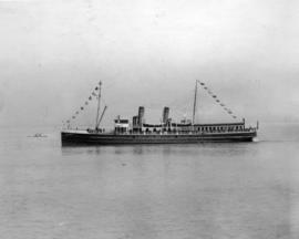 "T.S.S. ""Lady Evelyn"", purchased in 1923 - served on Howe Sound and Gulf Coast routes"