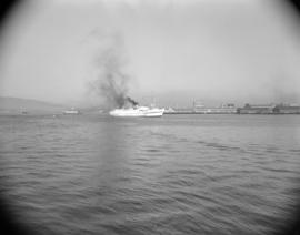 [The 'Chilcotin' leaving Vancouver harbour]
