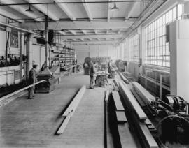 Boeing Aircraft Co. of Canada, flying boat construction, carpentry shop