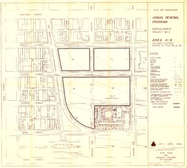 Redevelopment project no. 2 area a-6, including existing blocks 72, 73, 87, 88, D.L. 196 : site p...