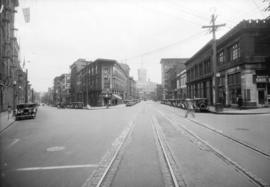 [Junction of Water Street and Cordova Street]
