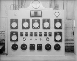 New powerhouse boilers: control panel