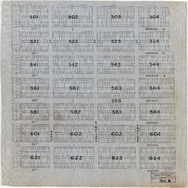 Sheet No. 1 [Ontario Street to 16th Avenue to Cambie Street to 23rd Avenue]