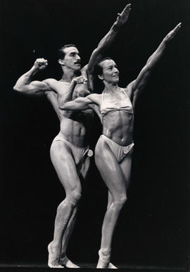 [Physique competition at] Gay Games 90