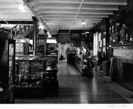 Old Hastings Mill Store Museum, interior