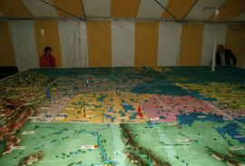 16-foot by 20-foot birthday cake for the Centennial Canada Day celebration