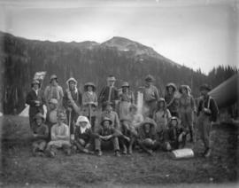 [B.C. Mountaineering Club in Garibaldi District]