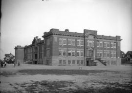 [View of Lord Tennyson] School [from Maple Street]
