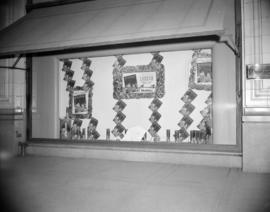 [Window display for Holiday magazine at the Hudson's Bay store on Granville Street]