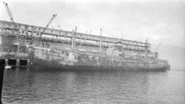 S.S. James B. Lane [at dock]