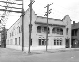 [The Continental Daily News (Japanese newspaper) building on the 200 block of Cordova Street]