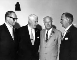 1967 Derby Day : [J. Diamond, Lieutenant Governor G.R. Pearkes, P.N.E. President H.J.C. Terry, an...