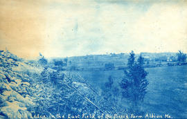 The Old Ledge in the East Field of the Pierce Farm, Albion M[ain]e