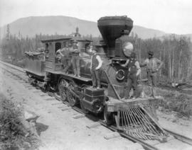 """New Westminster"", No. 3 [C.P.R. locomotive]"